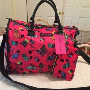 New cat weekender travel bag + free extra mini bag